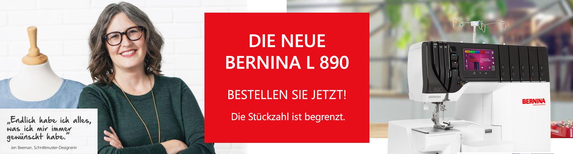 DIE NEUE BERNINA L 890