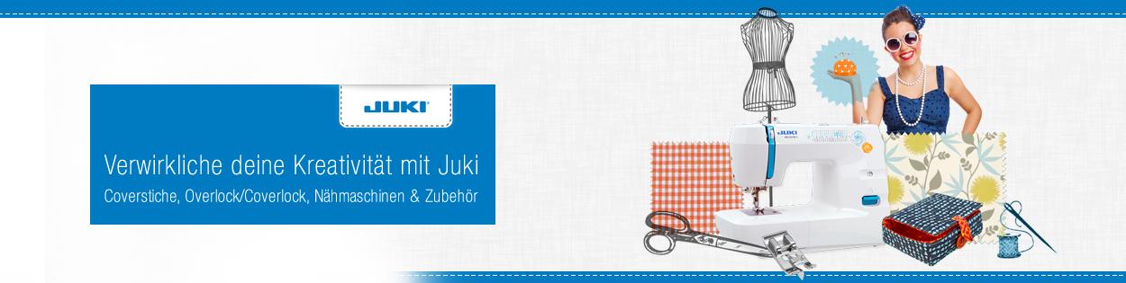 Juki - Nähmaschinen & Overlocker