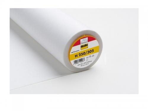 Bügeleinlage H 250 für Formbünde, Formgürtel und Bastelarbeiten, Meterware