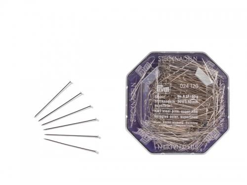 Stecknadeln - 30 x 0,50 mm (Super Fein)