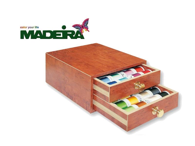 Madeira - exklusive Stickgarnschatulle Rayon