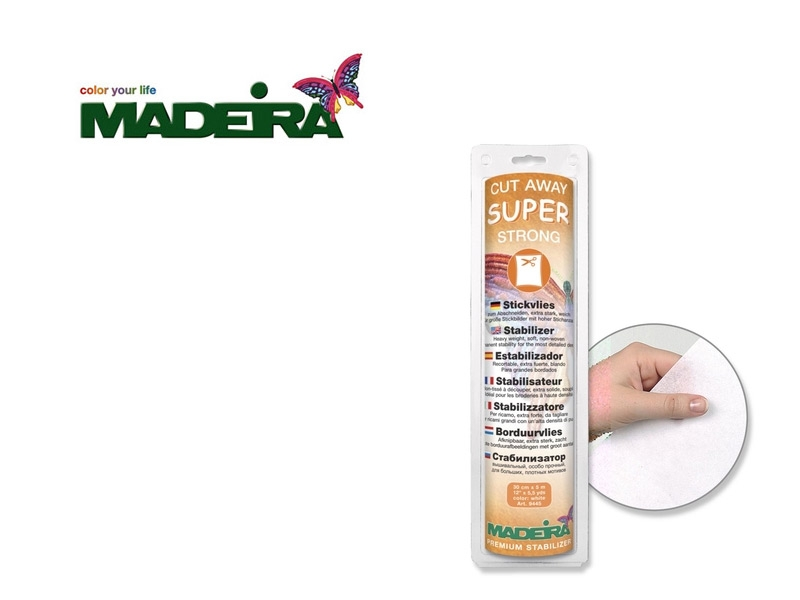 Madeira - Cut Away Super Strong