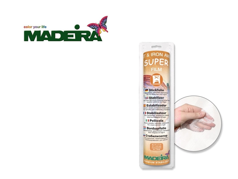 Madeira - Cut & Iron Away Super Film