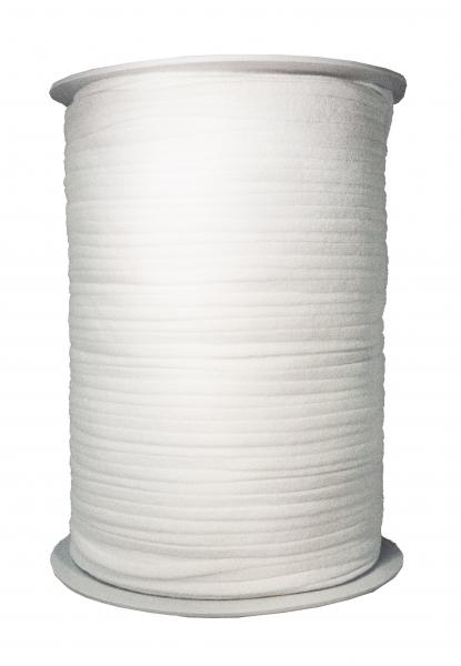 Gummiband - Jersey, weiß, 250-300 m-Rolle