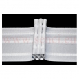 Faltenband 3 Falten Weiß 50mm 100m Rolle