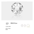 Swarovski SS16 4mm Crystal 100 Stk