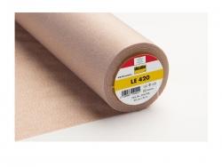 Bügeleinlage LE 420, Ledereinlage für Vorderteile, Kragen etc., Meterware
