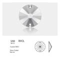 Sew-on Stones Rivol #3200 16mm 72 Stk