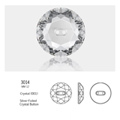 Crystal Buttons #3014 12mm 48 Stk