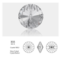 Crystal Buttons #3015 16mm 24 Stk
