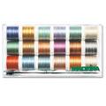 Madeira Polyneon Multicolor Stickbox 200m / 18 Farben