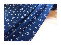 Baumwolle-Jerseystoff  Sternchen - blau