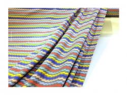 Baumwolle-Jerseystoff Geometrisch - bunt