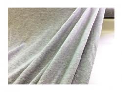 Baumwolle-Jerseystoff Abstarkt  grau