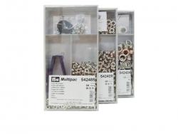Multipack - Ösen mit Scheiben - versch. Größen
