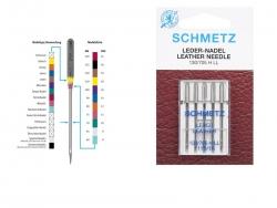 Schmetz Maschinennadeln - Leder-Nadeln
