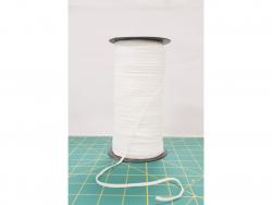Gummiband - 3 mm weiß