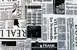 Baumwoll-Druck, Zeitung