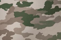 Baumwoll-Druck, Camouflage schwer