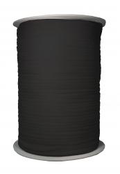 Gummiband - Jersey, schwarz, 250-300 m-Rolle