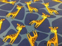 Kinder-Baumwoll-Jersey Giraffe