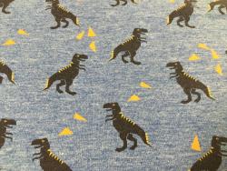 Kinder-Baumwoll-Jersey Dino