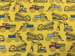 Kinder-Baumwoll-Jersey Fahrzeuge