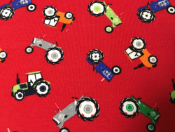 Kinder-Baumwoll-Jersey Traktor
