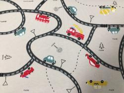 Kinder-Baumwoll-Jersey Autos