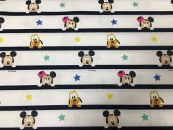 Baumwoll-Druck Mickey Mouse