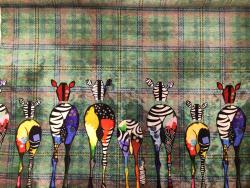 Bambus-Jersey, Zebras