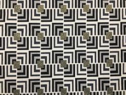 Jacquard, geometrisch-gemustert