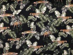 BW-Jersey Leopard/Blätter