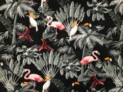 BW-Jersey Vögel/Blätter