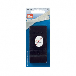 Prym BH-Verlängerer, 3x3 Haken, 40mm, schwarz