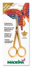 MADEIRA Präzisions-Stickschere gebogene Spitze