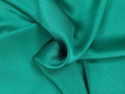 Krepp Satin Stoff grüne Farbtöne