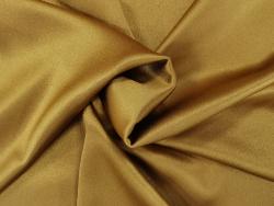 Krepp Satin Stoff gelbe und goldene Farbtöne